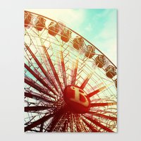 It was lovely Canvas Print