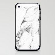 White Marble I iPhone & iPod Skin
