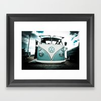 Vw Bus  Framed Art Print