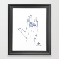 Make My Hands Famous - P… Framed Art Print