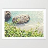 By the sea-Spain Art Print