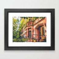 Framed Art Print featuring New York City Autumn Pum… by Vivienne Gucwa