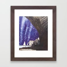 collage 9 Framed Art Print