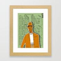 1001 Black Men--#280 Framed Art Print