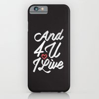 And 4 U I'll Live Jesus iPhone 6 Slim Case