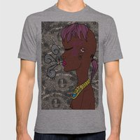 zef Mens Fitted Tee Athletic Grey SMALL