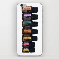 Essential oils holistic iPhone & iPod Skin