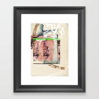 Mélange Japanois Framed Art Print