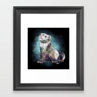 Ferret Time ! Framed Art Print