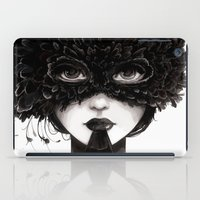 La veuve affamee iPad Case