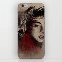 of a woman iPhone & iPod Skin