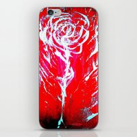 JUSSI FLOWER ROSE iPhone & iPod Skin