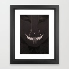 In the grasp of madness Framed Art Print