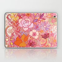 Detailed summer floral pattern Laptop & iPad Skin