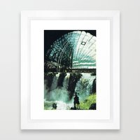 SubCulture (imaginary cities) Framed Art Print