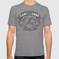 Lawless - Bird Flyin In … Mens Fitted Tee Tri-Grey SMALL