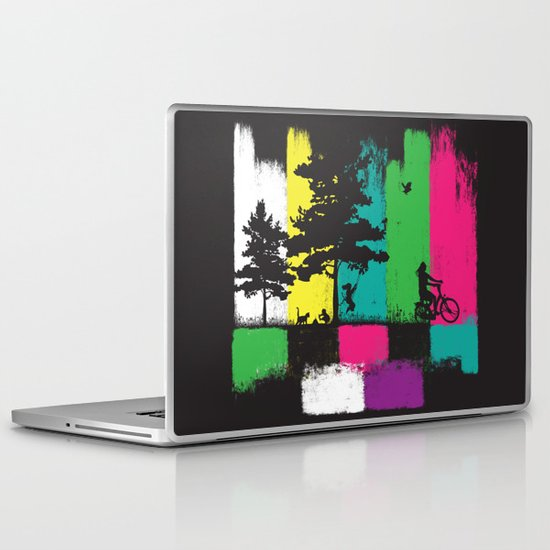 reality life Laptop & iPad Skin
