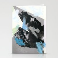 Untitled (Painted Composition 1) Stationery Cards