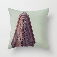 Flatiron #1 Throw Pillow