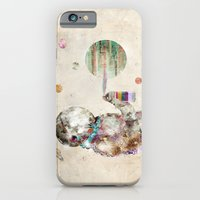 iPhone Cases featuring space graffiti by bri.buckley