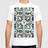 Tile Pattern - Portugues… Mens Fitted Tee White SMALL