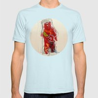 I Think I'm A Good Perso… Mens Fitted Tee Light Blue SMALL