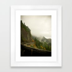 Curvature  Framed Art Print