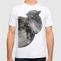 The Tarsius Who Reached His Light Source Mens Fitted Tee Ash Grey SMALL