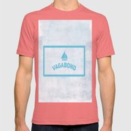 Vagabond Mens Fitted Tee Pomegranate SMALL