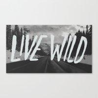 Live Wild X North Cascad… Canvas Print