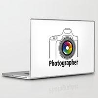 community Laptop & iPad Skins featuring Photographer Community by Jatmika jati