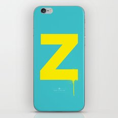Z. iPhone & iPod Skin