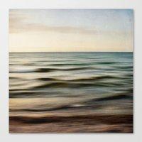 Sea Square I Canvas Print