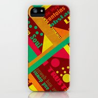 iPhone Cases featuring Life by Design4u Studio