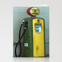 Gas Pump Stationery Cards