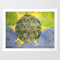 The Force of Nature Art Print