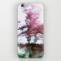 Abstract Pink Flowers 3 iPhone & iPod Skin