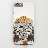 iPhone & iPod Case featuring Drawing Collage #03 by Mathis Rekowski
