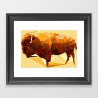 Syncerus caffer Framed Art Print