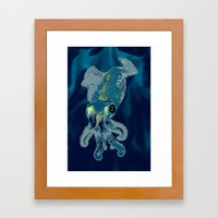Subaquatic Aurora  Framed Art Print