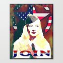 VERONICA LAKE - 065 Canvas Print