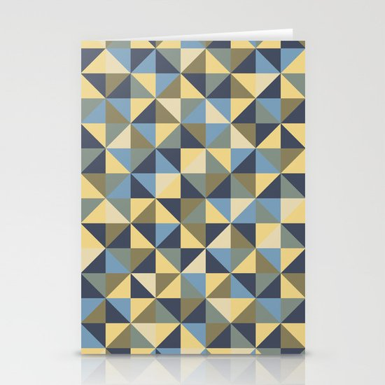 Shapes 003 ver 2 Stationery Card