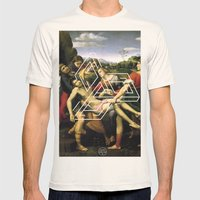 Raphael tri Mens Fitted Tee Natural SMALL