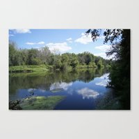 Sunny Days At The Spot Canvas Print