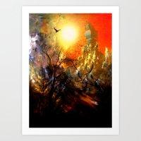 Altın Şehir Art Print