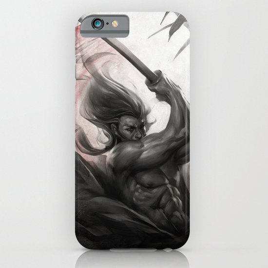 Samurai Spirit - Aura iPhone & iPod Case