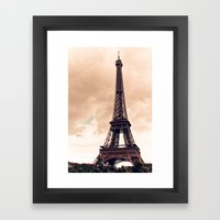 A Beautiful View Framed Art Print