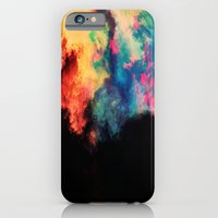 iPhone & iPod Case featuring Painted Clouds V.I by Caleb Troy