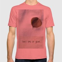 That Time of Year Mens Fitted Tee Pomegranate SMALL