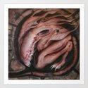 Uterus Art Print